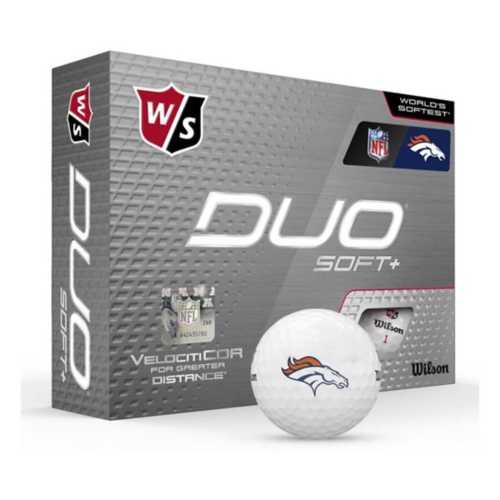 Wilson Denver Broncos Duo Soft Golf Balls