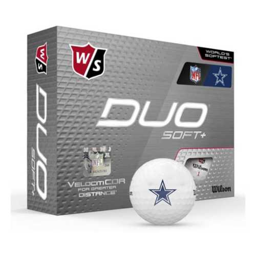 Wilson Dallas Cowboys Duo Soft+ Golf Balls