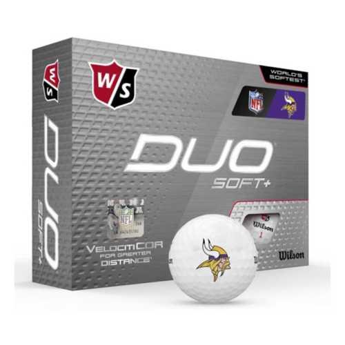 Wilson Minnesota Vikings Duo Soft+ Golf Balls