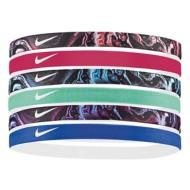 Women's Nike Printed Assorted Headbands 6 Pack