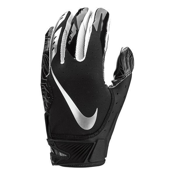 5e58dbf7fae ... Nike Vapor Jet 5 Receiver Football Gloves Tap to Zoom  Black