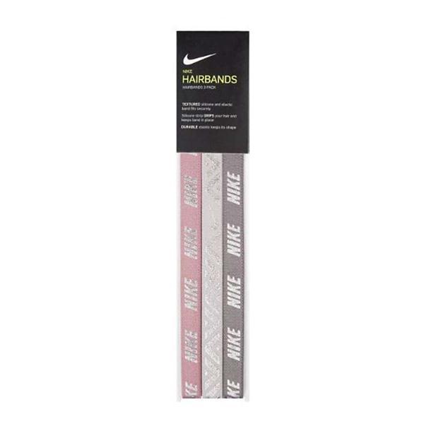 fe450b1fea810 Women s Nike Metallic Logo 3 Pack Headbands