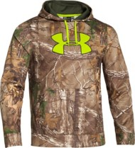Men's Under Armour Fleece Scent Control Hoodie