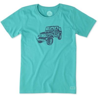 Women's life is good. Offroad 4x4 Short Sleeve Shirt