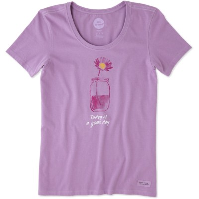 Women's life is good. Good Day Crusher Short Sleeve Shirt