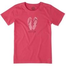 Women's life is good. Livin' On A Pair Short Sleeve Shirt