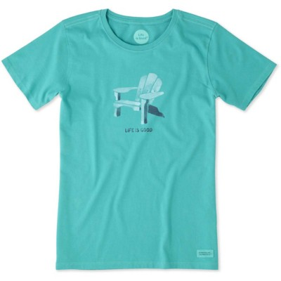 Women's life is good. Adirondack Chair Short Sleeve Shirt