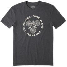 Men's life is good. Bike Work Live Cool T-Shirt