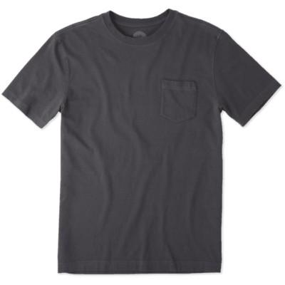 Men's life is good. Hot Tube Pocket Crusher T-Shirt