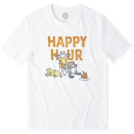 Men's life is good. Happy Hour Camp Smooth T-Shirt