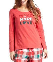 Women's Life is Good Make More Love Long Sleeve Shirt