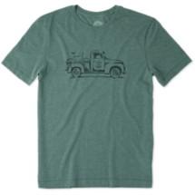 Men's life is good. Vintage Truck Bike Cool T-Shirt