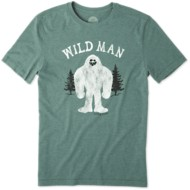 Men's life is good. Wild Man Cool T-Shirt