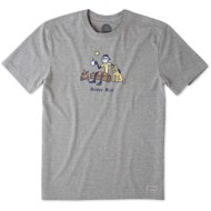 Men's Life Is Good Crusher Classic Happy Hour T-Shirt