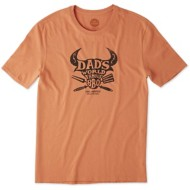 Men's Life is Good Dad's Famous BBQ T-Shirt