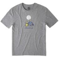 Men's Life is Good Jake & Rocket Moo T-Shirt