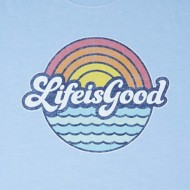 Men's Life Is Good Cool Tee Sunny Waves