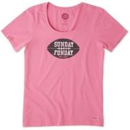 Women's Life Is Good Crusher Scoop  Sunday Funday