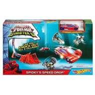 Mattel Hot Wheels Spider-Man Sinisters6 Spidey's Speed Drop