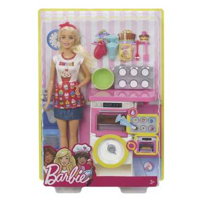 Barbie Baking Assorted Style Doll