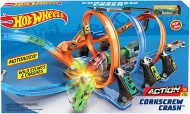 Hot Wheels Corkcrew Crash Track Set