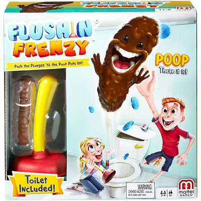 Mattel Flushin' Frenzy Game