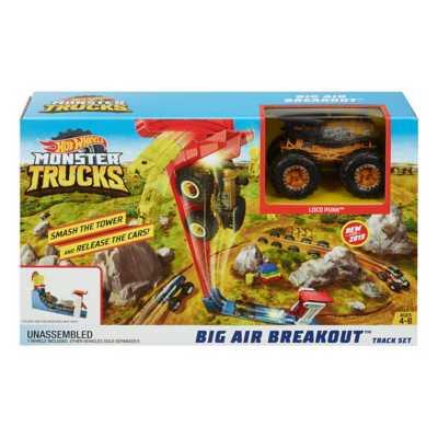 Hot Wheels Monster Truck Big Air Breakout Set