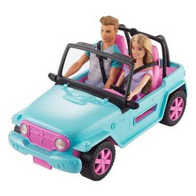 Barbie & Ken Vehicle Playset