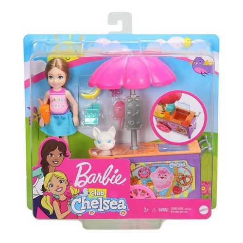 Barbie Club Chelsea Snack Cart Playset