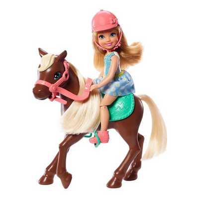 Barbie Club Chelsea Doll & Horse Playset