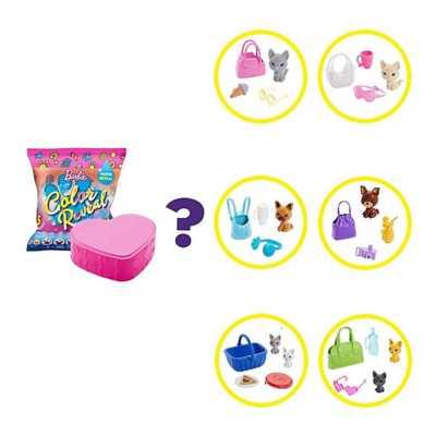 Barbie Color Reveal Pet Set