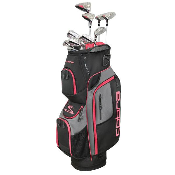 88d9dfb1fd ... Women s Cobra XL Speed Complete Club Set Tap to Zoom  Black Pink