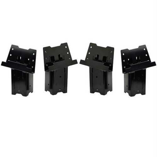 HME Steel 4x4 Blind Post Brackets