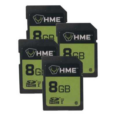 HME 8GB SD Card 4 Pack