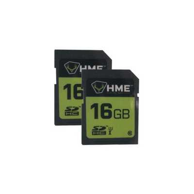 HME 16GB SD Card 2 Pack