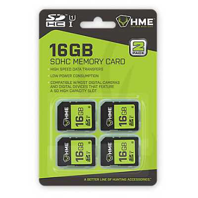 HME 16GB SD Card 4PK