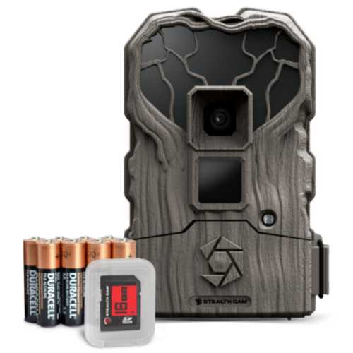 Stealth Cam QS18NGK Combo Trail Camera Kit