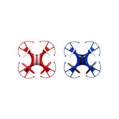 Quadrone Racer 2-Pack with Remote Control Blue and Red