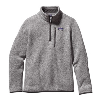 Boys' Patagonia 1/4 Zip Better Sweater