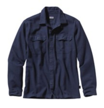 Men's Patagonia Long-Sleeved Fjord Flannel Shirt