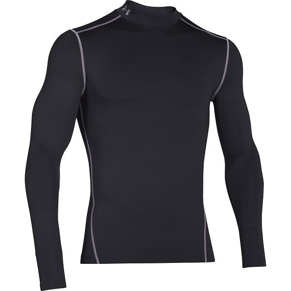 16d3769ac ... Men's Under Armour ColdGear Armour Compression Mock Long Sleeve Shirt  Tap to Zoom; White/Steel Tap to Zoom; Black/Steel