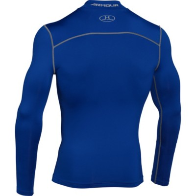 82f657b2d Tap to Zoom; Men's Under Armour ColdGear Armour Compression Mock Long  Sleeve Shirt