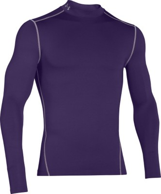 89322bbd6 Tap to Zoom; Men's Under Armour ColdGear Armour Compression Mock Long  Sleeve Shirt