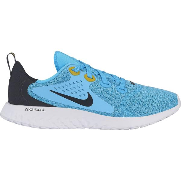 the latest 990ab 6459e ... Grade School Boys' Nike Legend React Running Shoes Tap to Zoom; Blue  Fury/Black-Bright Citron-White
