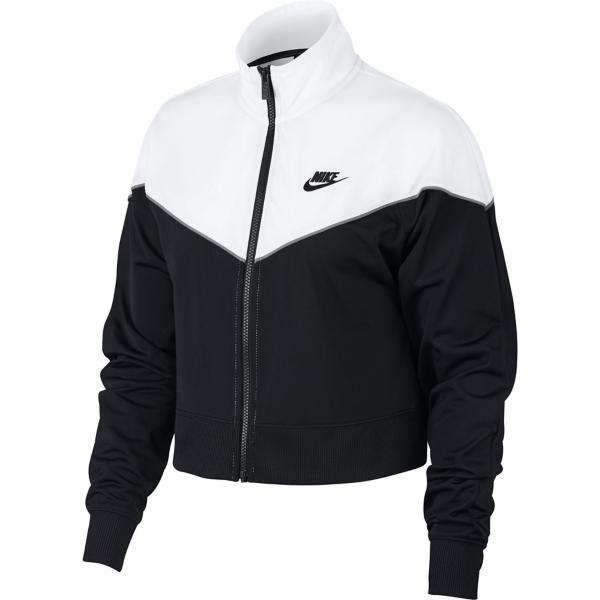 ... Women s Nike Sportswear Track Jacket Tap to Zoom  Black White White  Black 8749d3d6ca