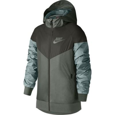 5f33d871c7 Tap to Zoom; Grade School Boys' Nike Sportswear Windrunner Full Zip Jacket