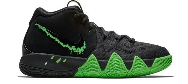Black/Rage Green