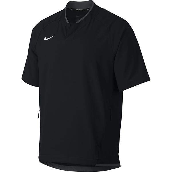 5b484056111a Men s Nike Hot Baseball Short Sleeve Pullover Jacket
