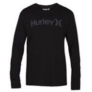 Men's Hurley One And Only Push Through Long Sleeve Shirt