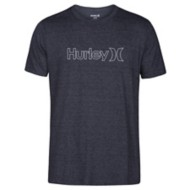 Men's Hurley Tri Blend One And Only Outline Short Sleeve Shirt